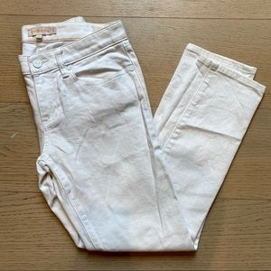 TORY BURCH White Skinny Jeans